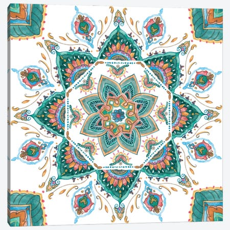 Mandala Zen I Canvas Print #WNG1392} by Melissa Wang Canvas Wall Art