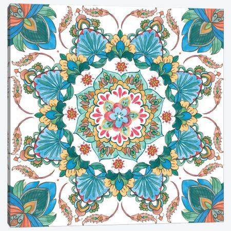 Mandala Zen II Canvas Print #WNG1393} by Melissa Wang Canvas Wall Art