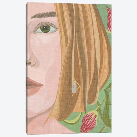 Morning Portrait I Canvas Print #WNG1404} by Melissa Wang Art Print