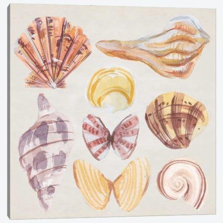 Ocean Sounds II Canvas Print #WNG1413} by Melissa Wang Canvas Art Print