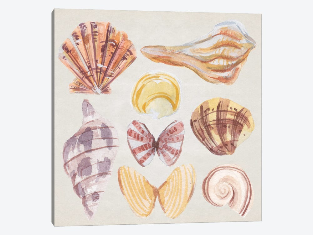 Ocean Sounds II by Melissa Wang 1-piece Canvas Artwork