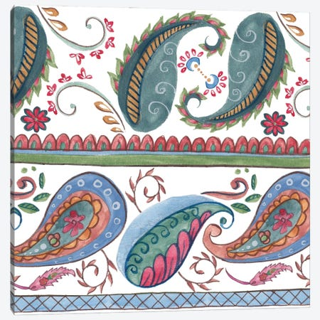 Paisley Doodle II Canvas Print #WNG1418} by Melissa Wang Canvas Print