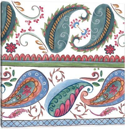 Paisley Doodle II Canvas Art Print