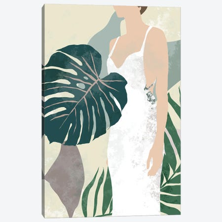 Summer Shades II Canvas Print #WNG1430} by Melissa Wang Canvas Print