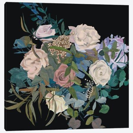 Violet Bouquet I Canvas Print #WNG1444} by Melissa Wang Canvas Print