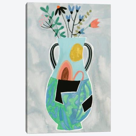 Collage Vase I Canvas Print #WNG1469} by Melissa Wang Canvas Art