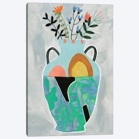 Collage Vase IV Canvas Print #WNG1471} by Melissa Wang Canvas Print