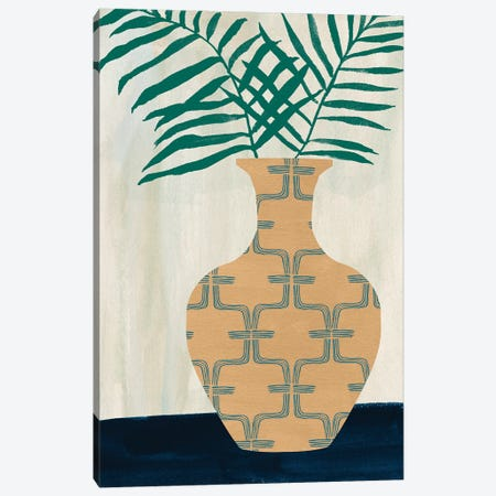 Palm Branches I Canvas Print #WNG1501} by Melissa Wang Canvas Print
