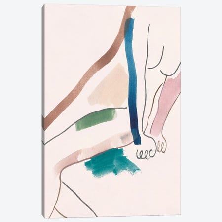 Seated Female Figure I Canvas Print #WNG1510} by Melissa Wang Canvas Wall Art