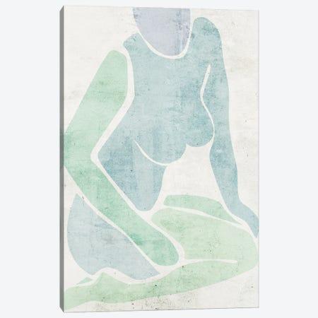 Stretching I Canvas Print #WNG1517} by Melissa Wang Canvas Print