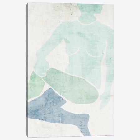 Stretching II Canvas Print #WNG1518} by Melissa Wang Canvas Wall Art