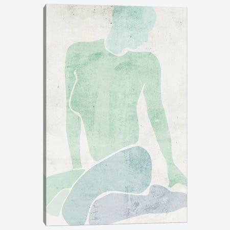 Stretching III Canvas Print #WNG1519} by Melissa Wang Canvas Art