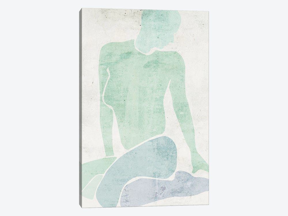 Stretching III by Melissa Wang 1-piece Canvas Art Print
