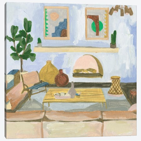 Sunshine Inside I Canvas Print #WNG1524} by Melissa Wang Canvas Wall Art