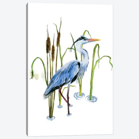 At The Pond II Canvas Print #WNG158} by Melissa Wang Canvas Art