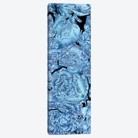 Blue Peonies II Canvas Print #WNG165} by Melissa Wang Canvas Artwork