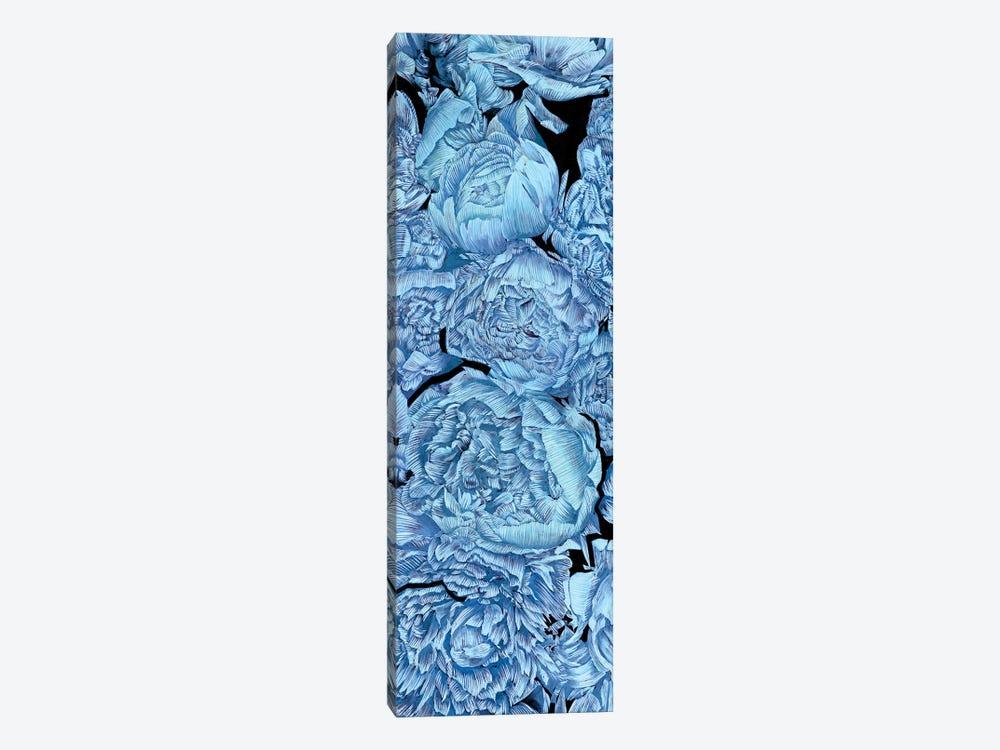 Blue Peonies II by Melissa Wang 1-piece Canvas Art Print