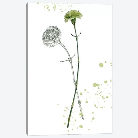 Botany Flower III Canvas Print #WNG168} by Melissa Wang Canvas Print