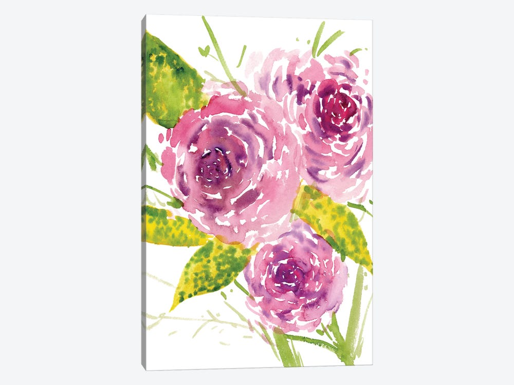 Bouquet Rose I by Melissa Wang 1-piece Canvas Print