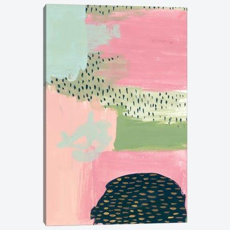 Cheeky I Canvas Print #WNG177} by Melissa Wang Art Print