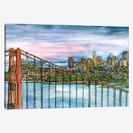 Coast to Coast II Canvas Print #WNG182} by Melissa Wang Canvas Print