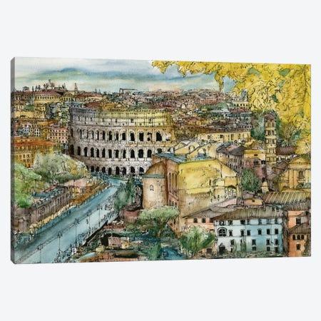 European Afternoon III Canvas Print #WNG192} by Melissa Wang Canvas Art