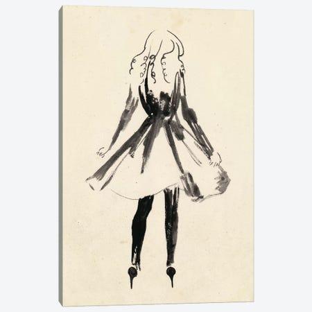 Fashion Glimpse I Canvas Print #WNG195} by Melissa Wang Canvas Print