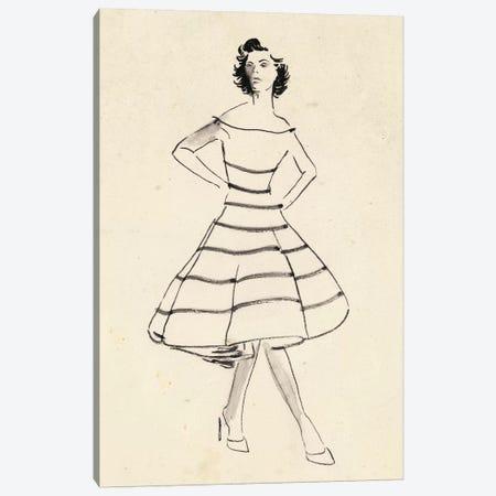 Fashion Glimpse II Canvas Print #WNG196} by Melissa Wang Canvas Art Print