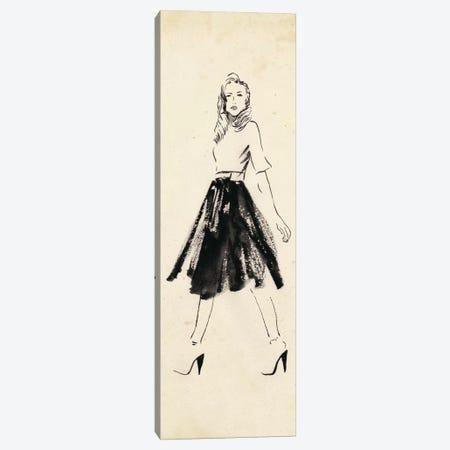 Fashion Glimpse V Canvas Print #WNG199} by Melissa Wang Canvas Wall Art