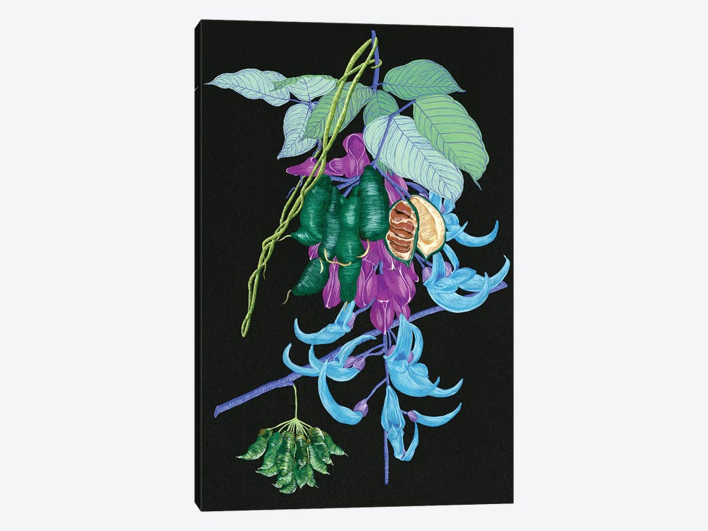 Jade Vine I by Melissa Wang 1-piece Canvas Print