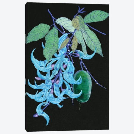 Jade Vine II Canvas Print #WNG211} by Melissa Wang Art Print