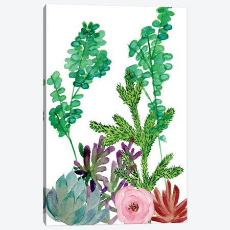 Little Garden I Canvas Print #WNG214} by Melissa Wang Canvas Art