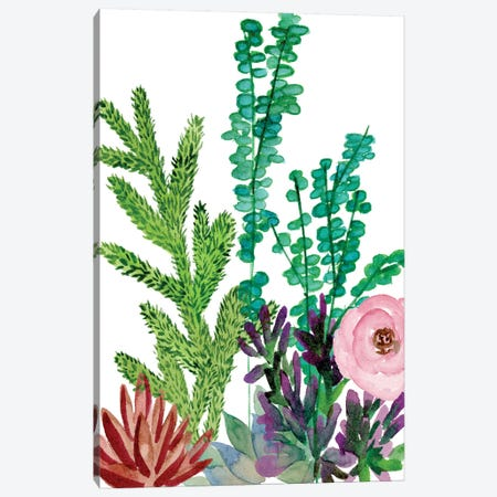 Little Garden II Canvas Print #WNG215} by Melissa Wang Canvas Art