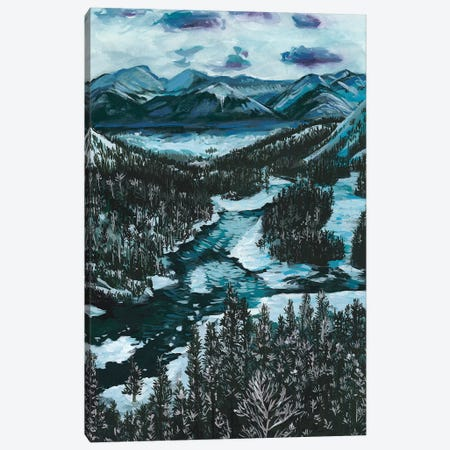 Mountainscape I Canvas Print #WNG229} by Melissa Wang Canvas Wall Art