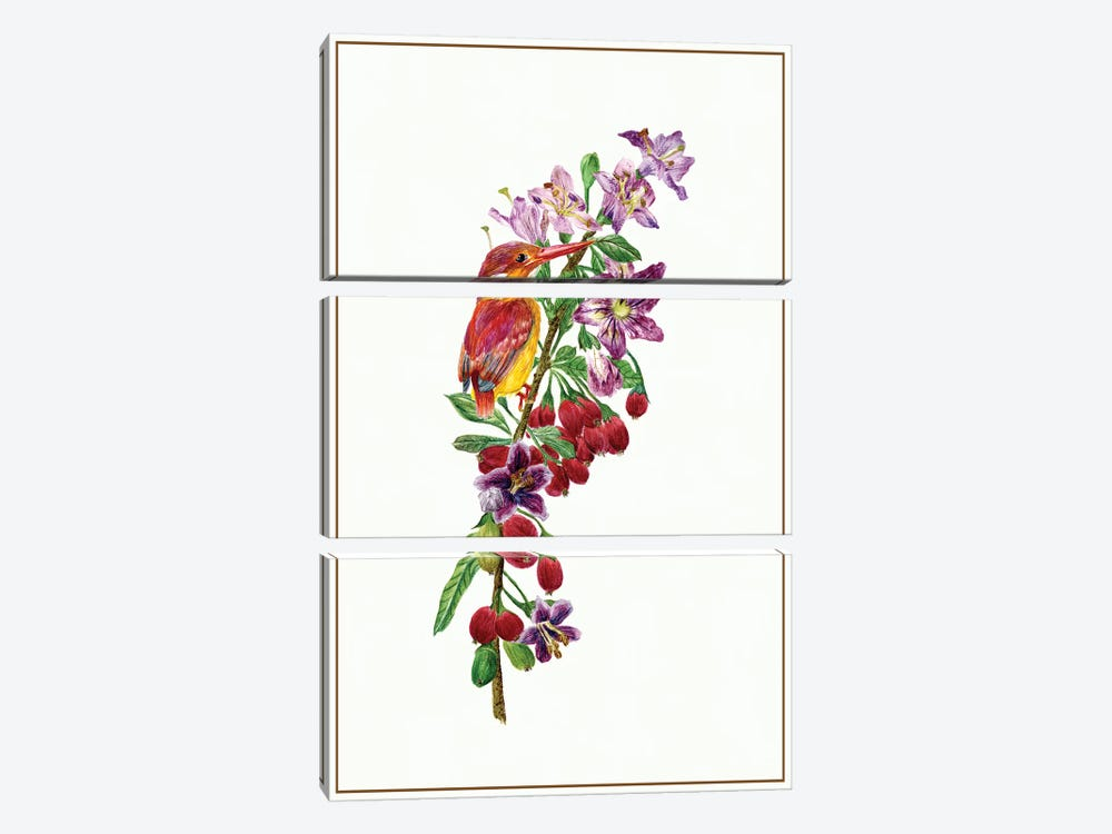 Lycium Barbarum II by Melissa Wang 3-piece Canvas Art