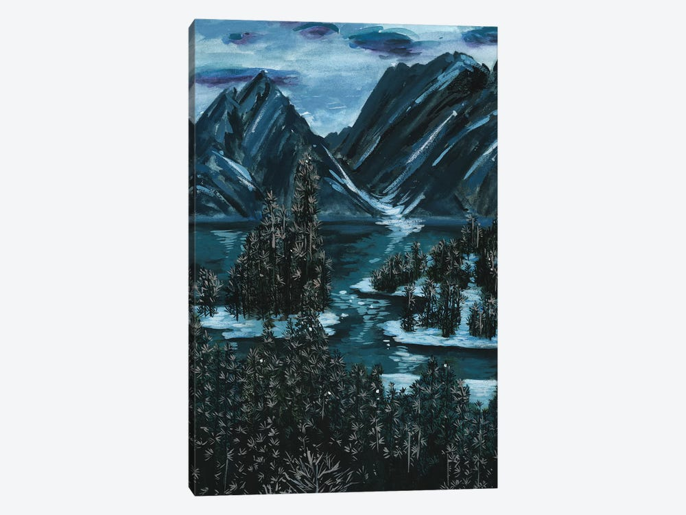 Mountainscape II by Melissa Wang 1-piece Canvas Art Print