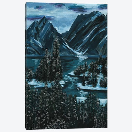 Mountainscape II Canvas Print #WNG230} by Melissa Wang Canvas Print