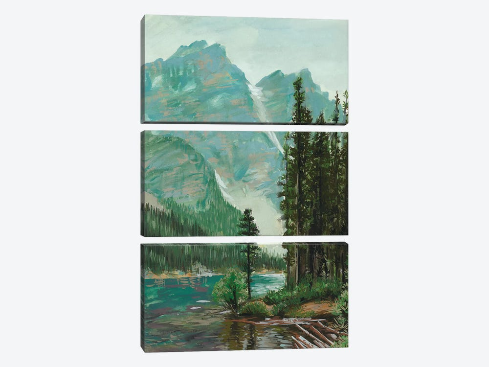 Mountainscape III by Melissa Wang 3-piece Canvas Artwork