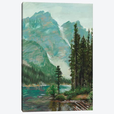 Mountainscape III 3-Piece Canvas #WNG231} by Melissa Wang Art Print