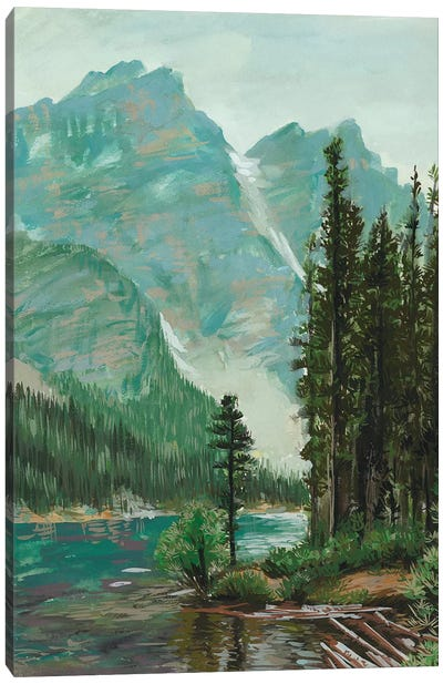 Mountainscape III Canvas Art Print