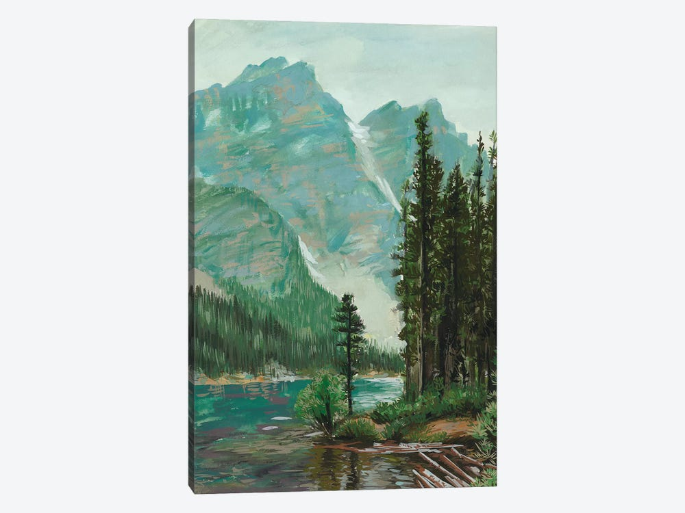 Mountainscape III by Melissa Wang 1-piece Canvas Wall Art