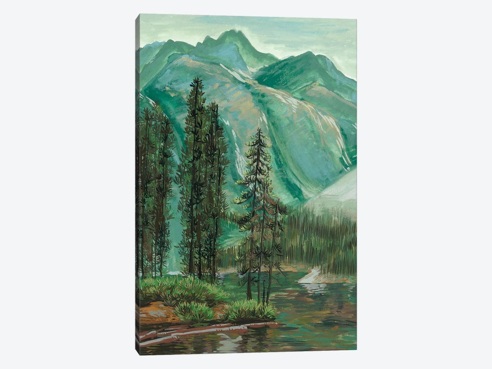 Mountainscape IV by Melissa Wang 1-piece Canvas Art Print