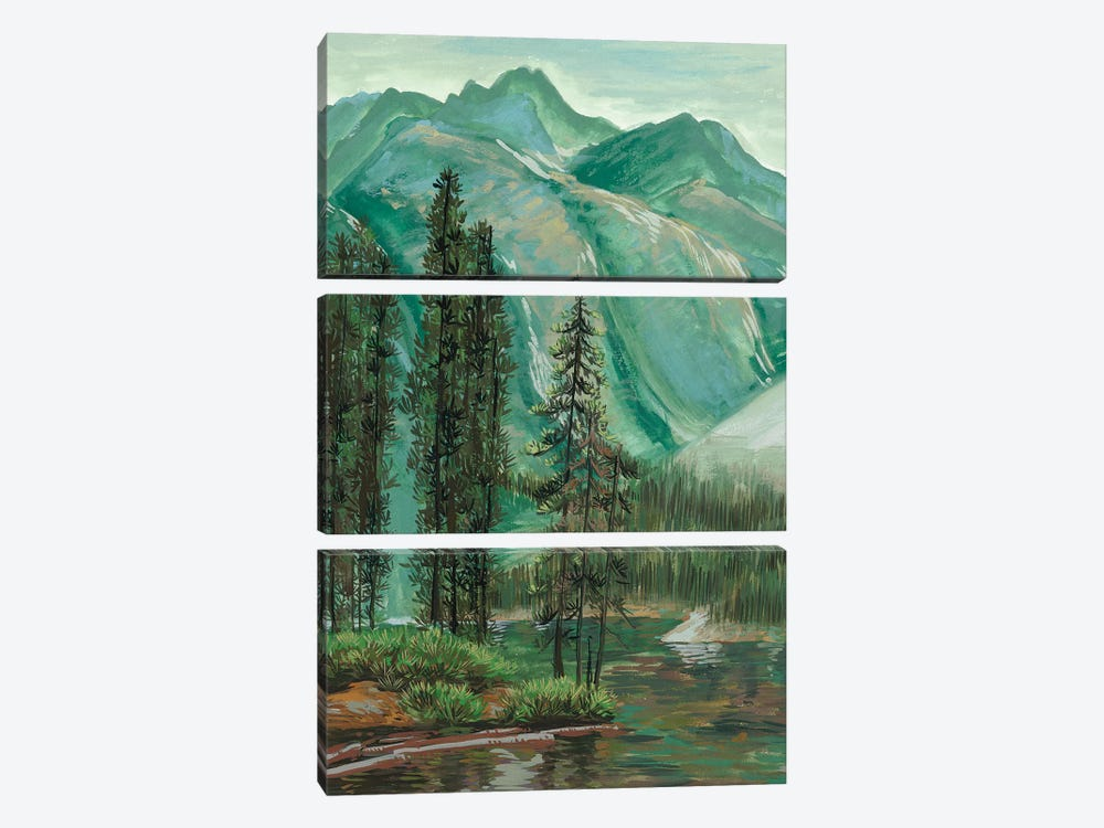 Mountainscape IV by Melissa Wang 3-piece Art Print