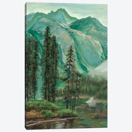 Mountainscape IV Canvas Print #WNG232} by Melissa Wang Canvas Print
