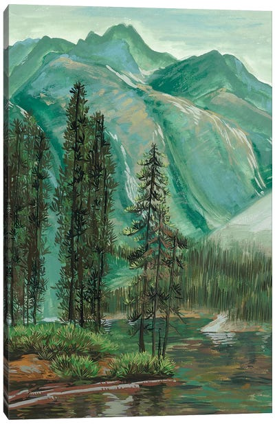 Mountainscape IV Canvas Art Print