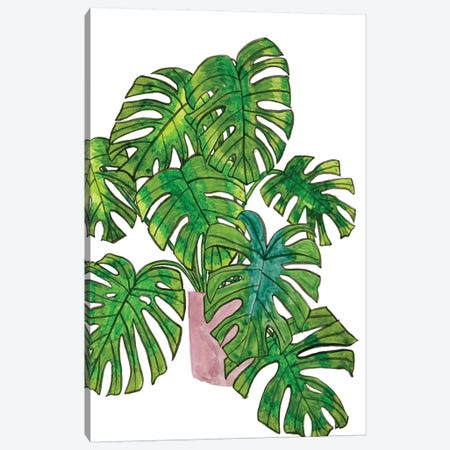 Potted Jungle I Canvas Print #WNG235} by Melissa Wang Canvas Art
