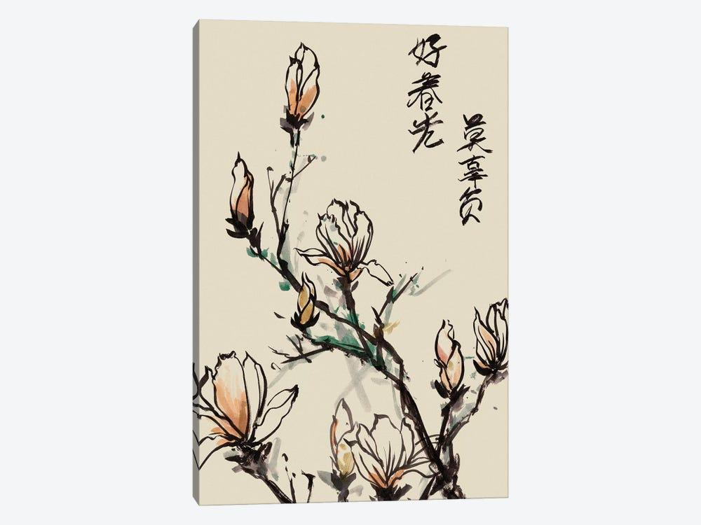 Mandarin Magnolia I by Melissa Wang 1-piece Art Print