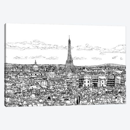 Tour of Europe II Canvas Print #WNG262} by Melissa Wang Canvas Art