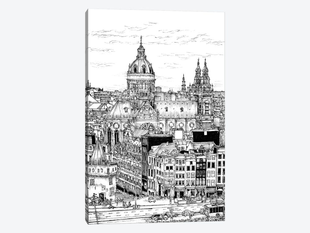 Tour of Europe V by Melissa Wang 1-piece Art Print