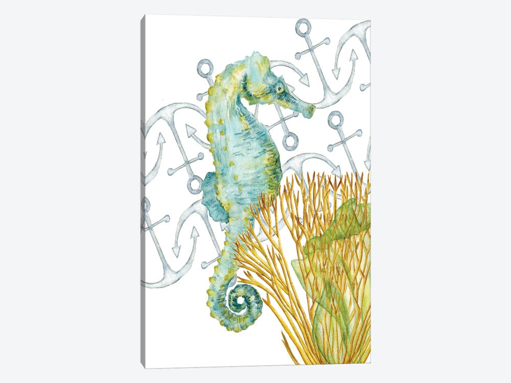 Undersea Creatures I by Melissa Wang 1-piece Canvas Artwork
